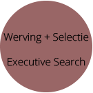 Werving, Selectie, Executive Search
