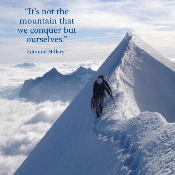 conquer mountain edmund hillary